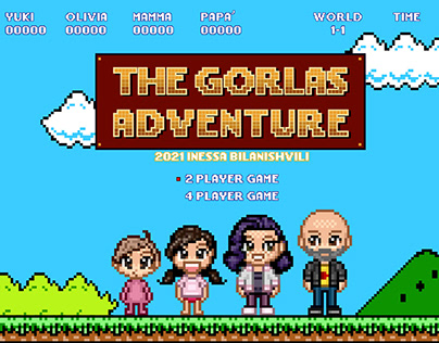 8 bit The Gorlas Adventure