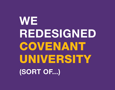 Covenant University Identity Redesign Concept