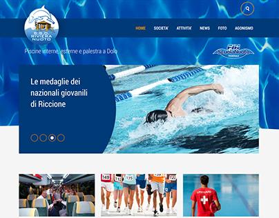 Riviera Nuoto - website