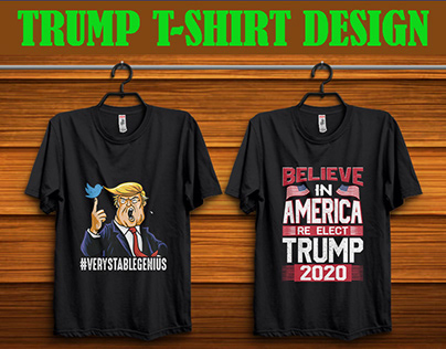 Trump T-shirt Design