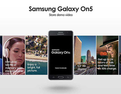 Samsung Galaxy On5 Store Sample Video