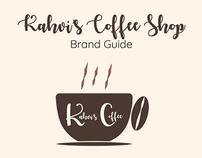 Kahvi's Coffee Shop Brand Style Guide