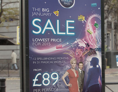 Merlin Annual Pass Sale Poster Design
