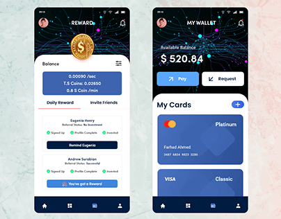 Wallet App Transfer Money & Receive Payments