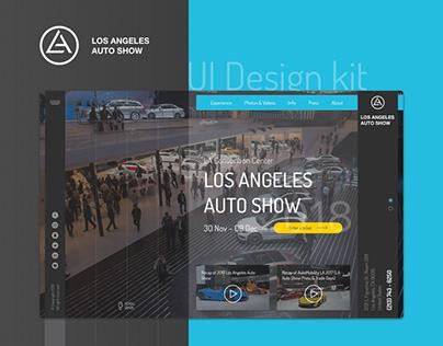 LA Auto Show – UI Design & Interactive Prototyping