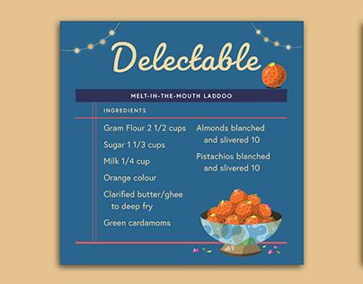 Recipe Card Design Challenge