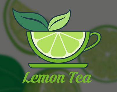 Lemon Tea Logo Design