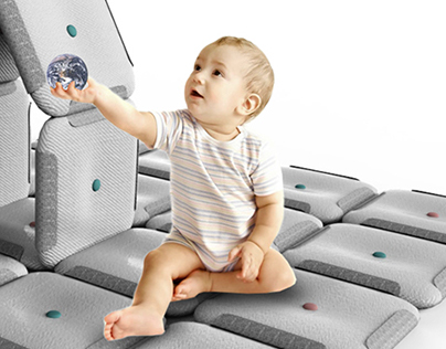 PILLOW PLAYGROUND wihch grows with a child