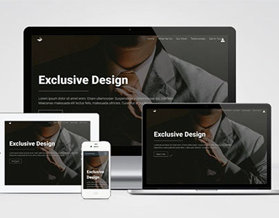 Exclusive Design : Free Bootstrap Business Template