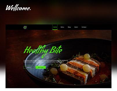 restaurants web page