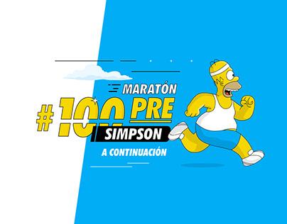 Maratón #100PRESimpson