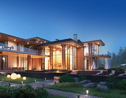 Visualization of the Villa - CG