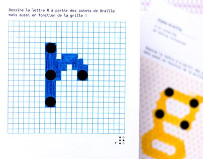 Alpha-braille - Inclusive Letters - Experimentation
