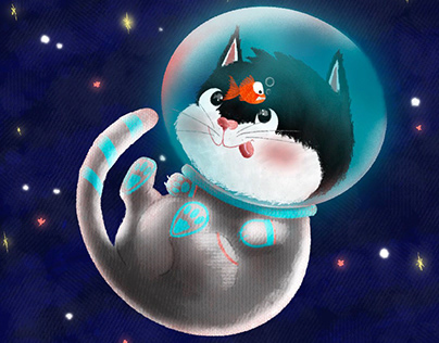 Cat on Space!