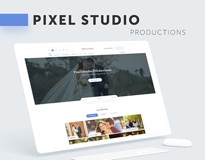 Pixel Studio Productions — Web Design