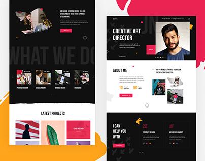 Ziomm - Creative & Modern Portfolio WordPress Theme