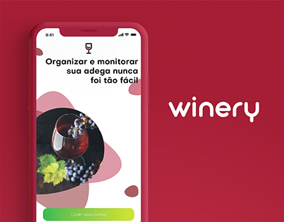 Winery - Virtual Cellar UI Design