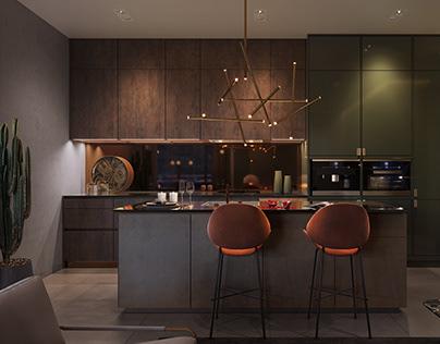 A136 HIGHLIGHT HOUSE APARTMENT INTERIOR DESIGN