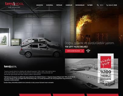 Terrawool RockWool İnsulation Company Website