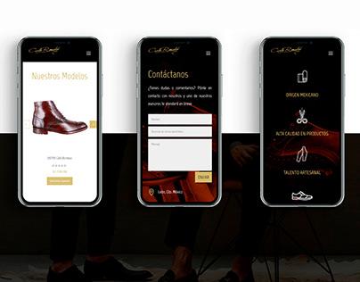 Website Carlo Ronaldi