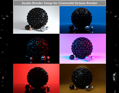 Octane Render Studio Setup for C4D