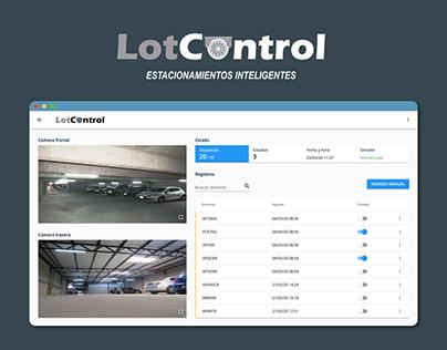 LotControl - Estacionamientos inteligentes