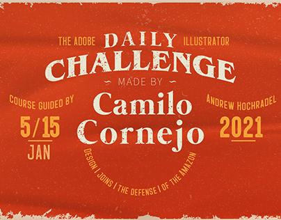 Illustrator Daily Creative Challenge 5.01.2021