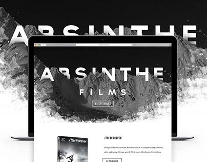 Absinthe Films App & Web Design