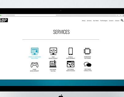 SBP Romania Services Page