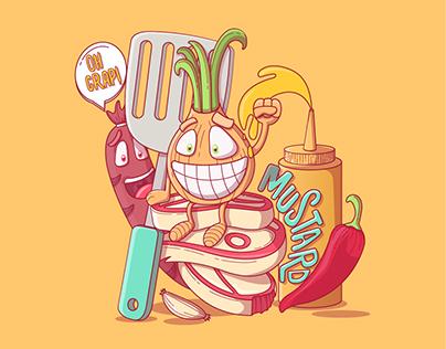 Illustration l BBQ