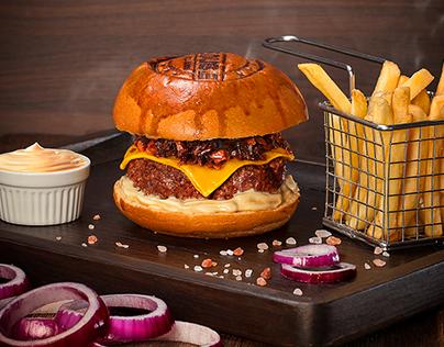 Burger House Photography