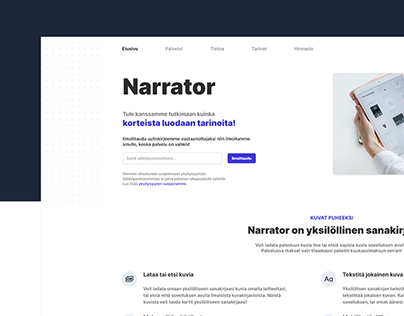 Narrator - Concept Design