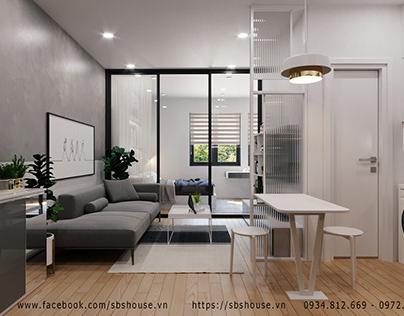 Căn hộ Studio được thiết kế hiện đại và tiết kiệm