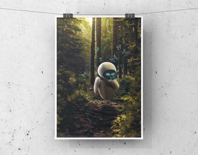 Eve Poster - Photoshop Manipulation
