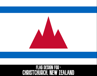 Flag Design for Christchurch, New Zealand