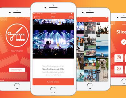 Story Slicer iOS App