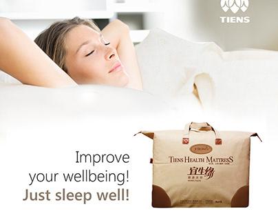Health mattress promo kit