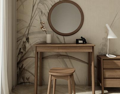 Dresser Circa17 Desk for Dressing room by Karpenter
