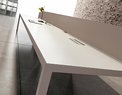 CGI | Office Furniture | Operative Desk 2017