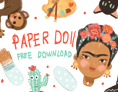 FREE DOWNLOAD PAPER DOLLS