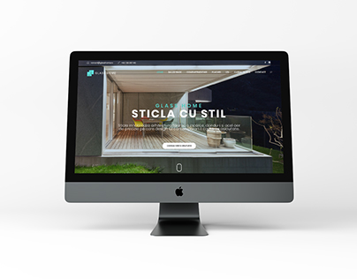 Glass Home - Website Design
