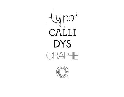Typo calli dys graphie