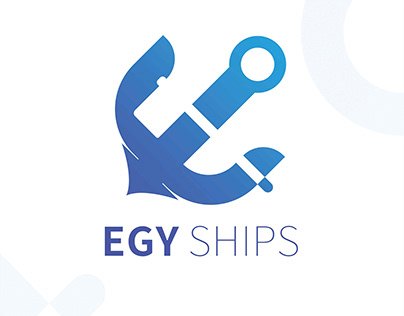 Visual identity of a ship manufacturing company.