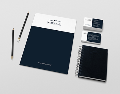 Norman suits / new identity design