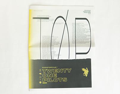 Newsprint - Twenty One Pilots Emotional Walkthrough