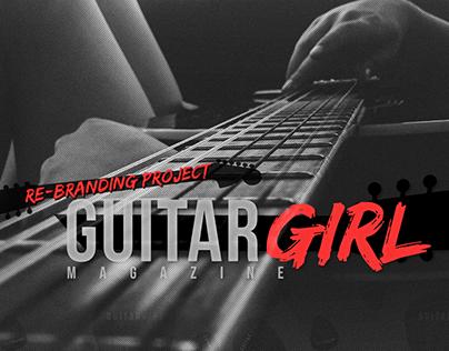 Guitar Girl Magazine Re-Branding Project