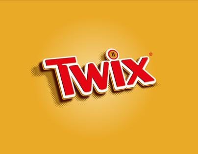 Creatividades redes sociales para Twix España