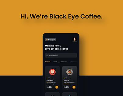 Black Eye Coffee. A UI/UX Case Study