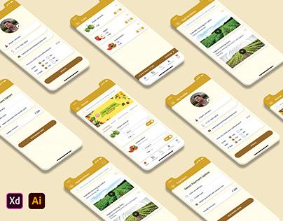 Online Organic Grocery Shopping App