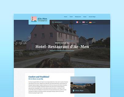 Ar-Men Hotel Restaurant Website